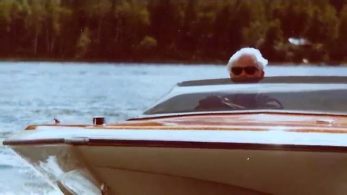 Bob Compeau Silver Fox Harding Lake 1980's