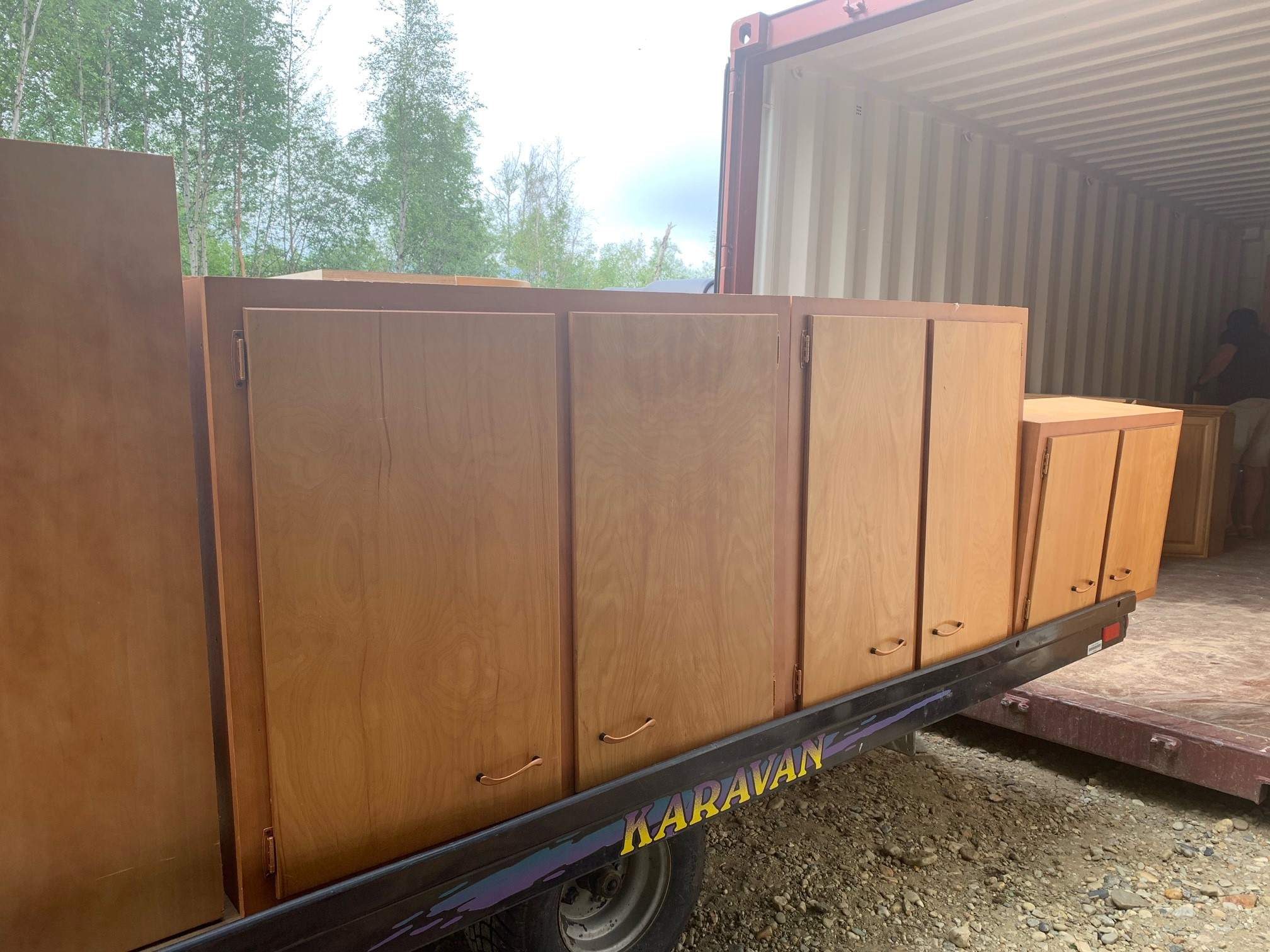 Kitchen Cabinets $200  If interested please call 590-3524.