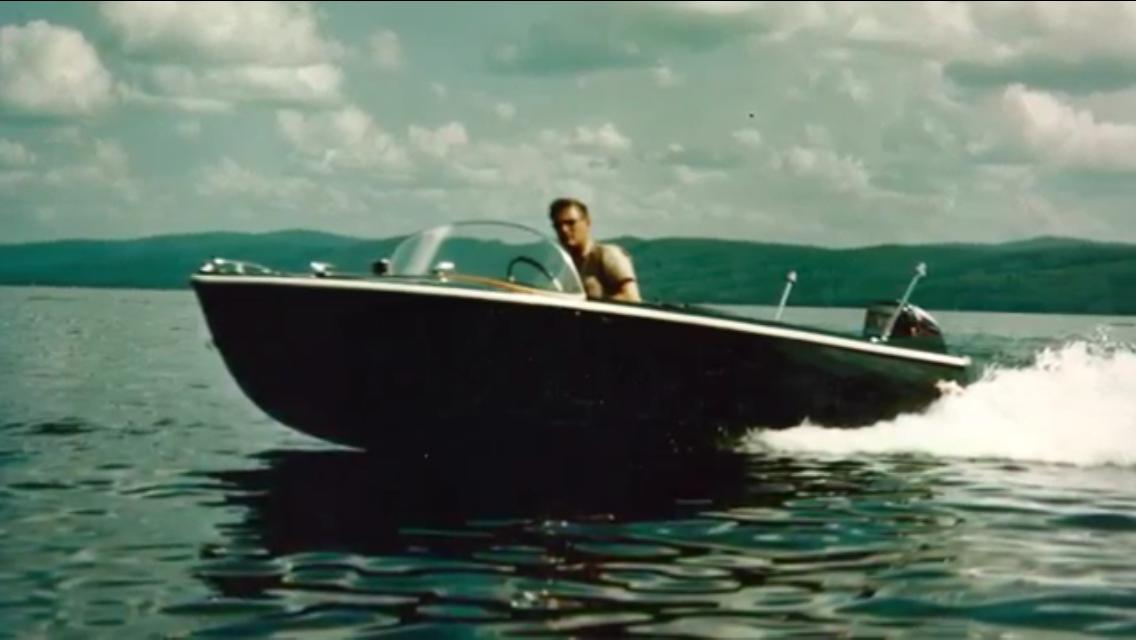 Bob Compeau Harding Lake late 1950's