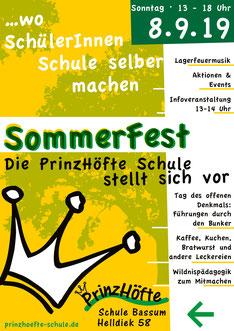 Sommerfest am 08. September 2019