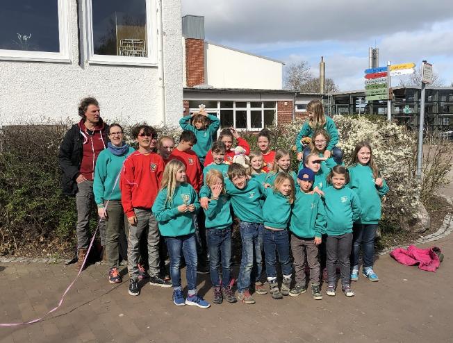 Jugendrotekreuz - Kreiswettbewerbe April 2019