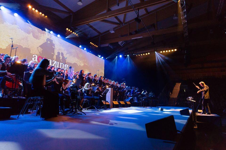 Hans-Martin Sauter ist der Musikalische Leiter des Ganzen