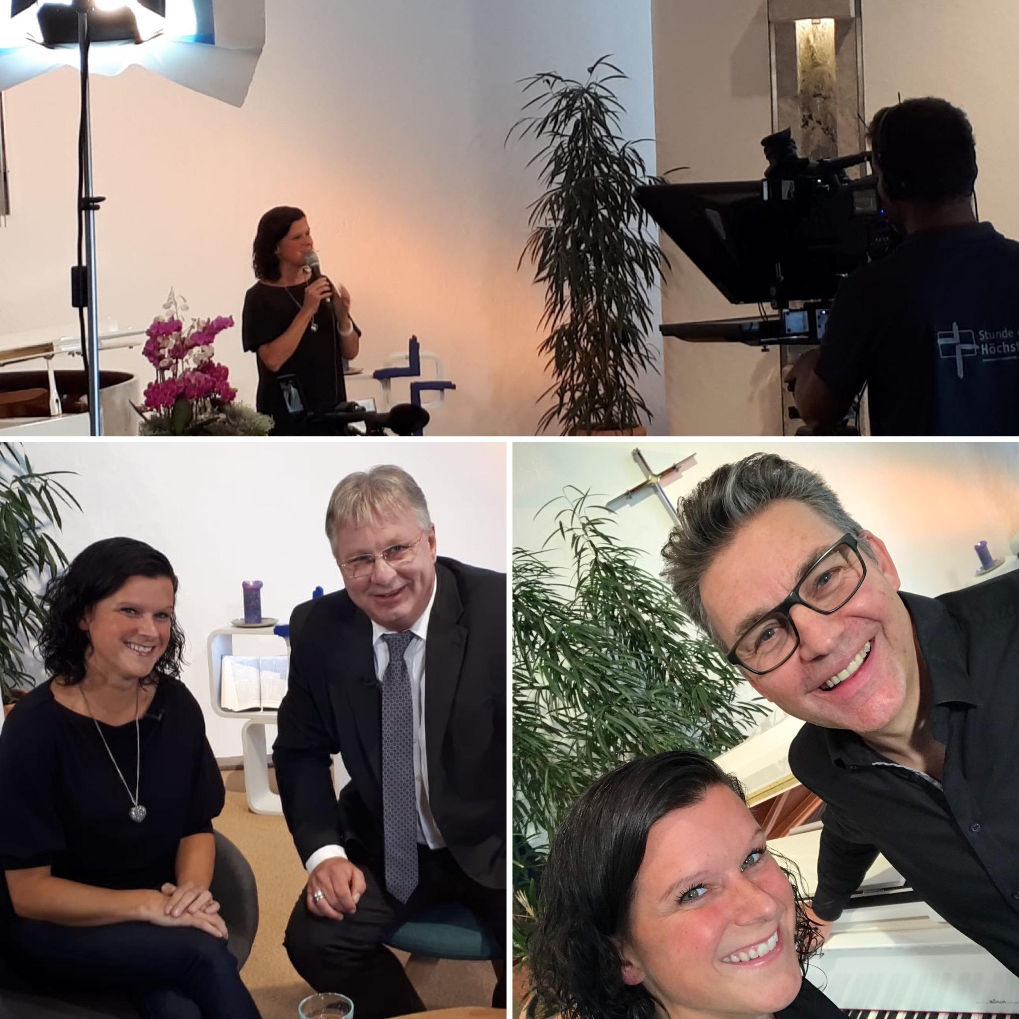 Interview mit Heiko Bräuning & TV-Aufnahme mit Michael Schlierf am 3.Oktober 2019