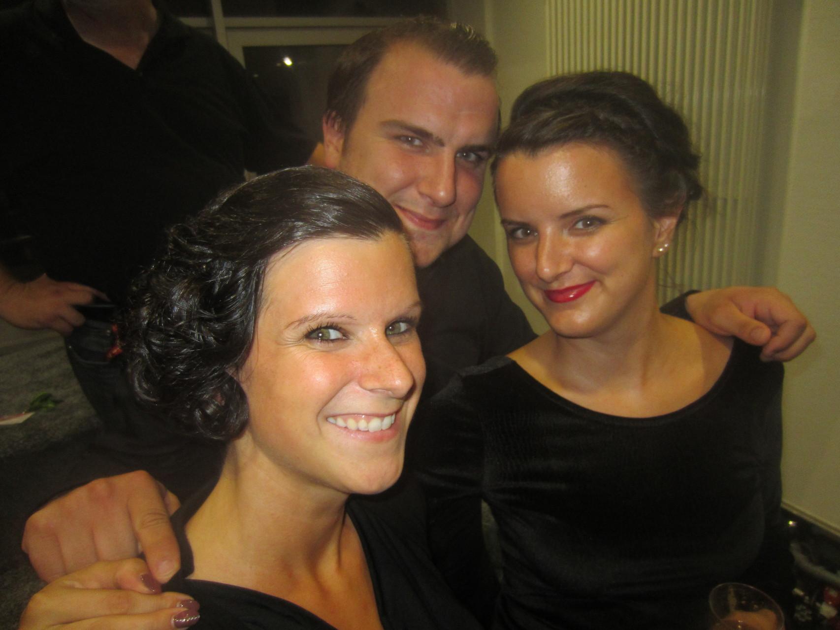 Mit meinem Bruder Tobi und meiner Schwester Miri