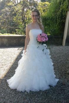 """Brautkleid """"Wolke"""" als langes Kleid"""