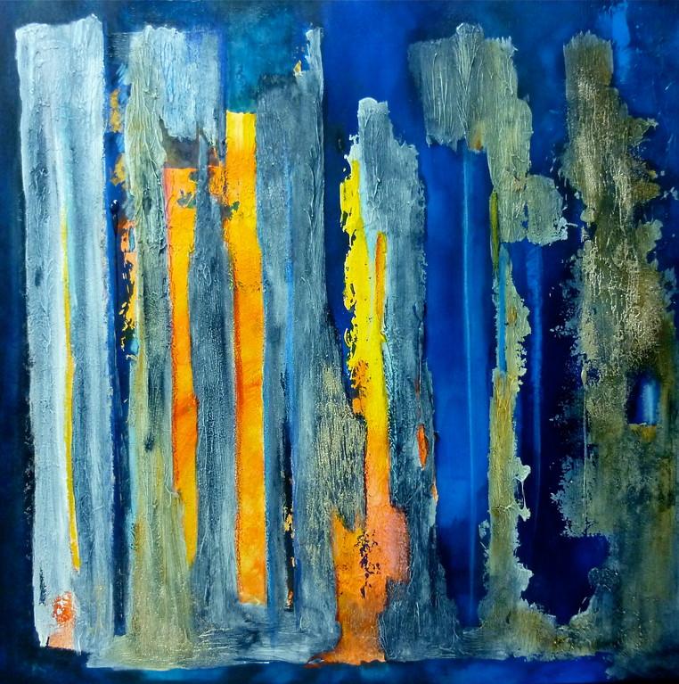 Abysses - 100 x 100 cm