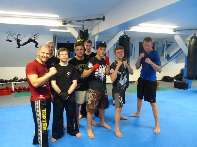 Besuch der MMA Fighter aus Minden