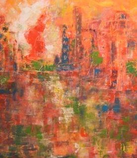 Ville lumière - 160x180 - 2013
