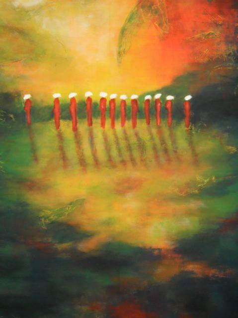 Ambiance du sud  -140x120 - 2012