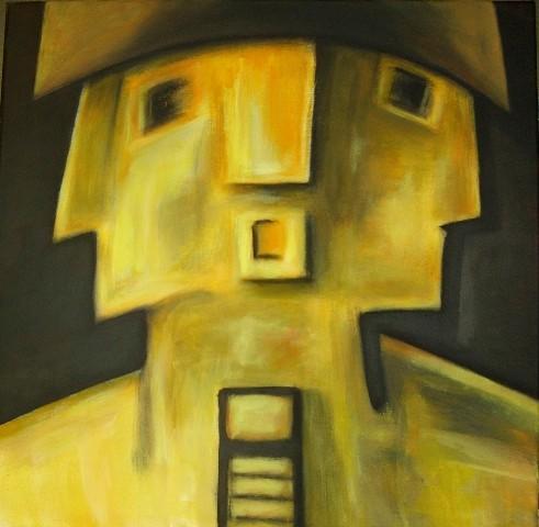 Wohin? - 50x50 - 2009