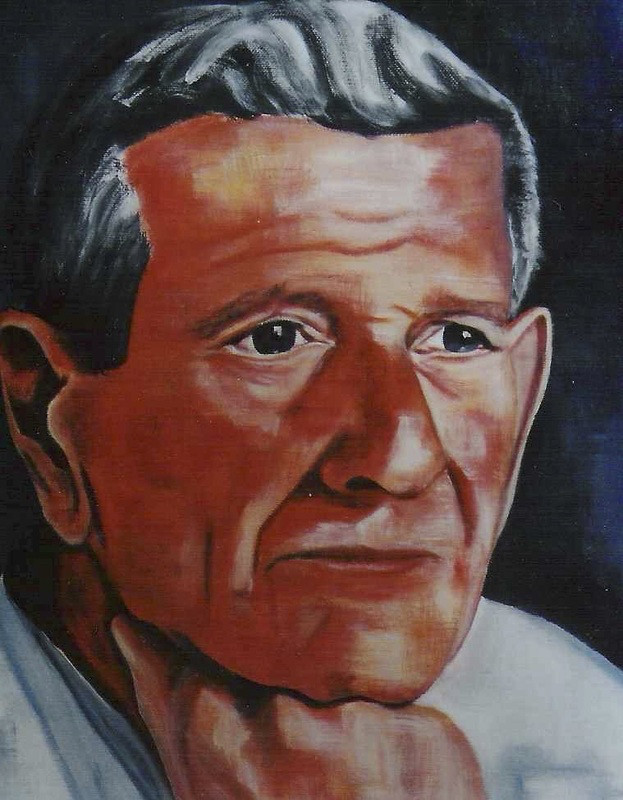 Père d'Hermine - 30x40 - 2004