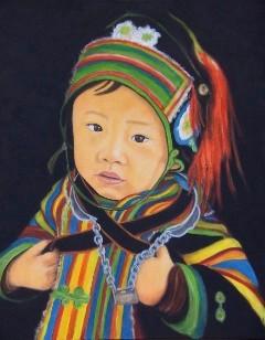 Enfant mongole - 80x100 - 2010