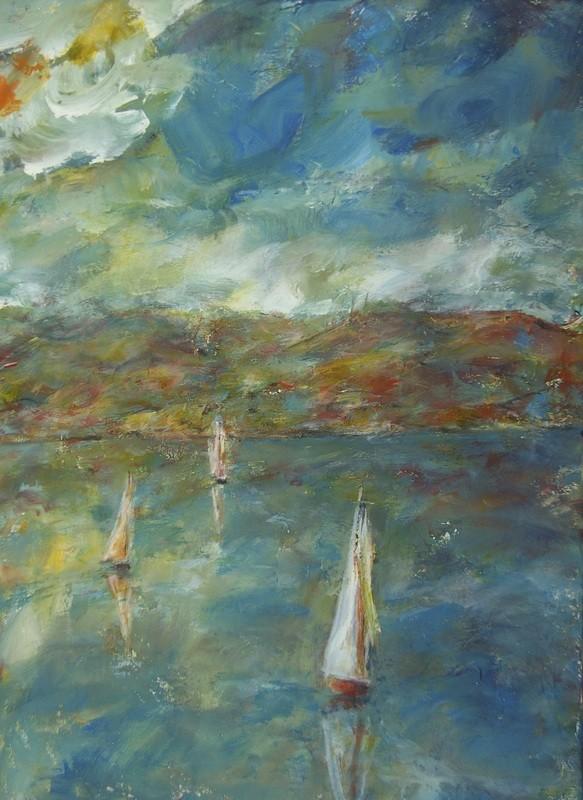 Voiles d'automne - 70x80 - 2010