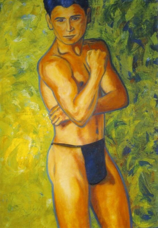 Macho pudique - 80x100 - 2004