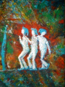 Lutins espiègles - 40x30 - 2013