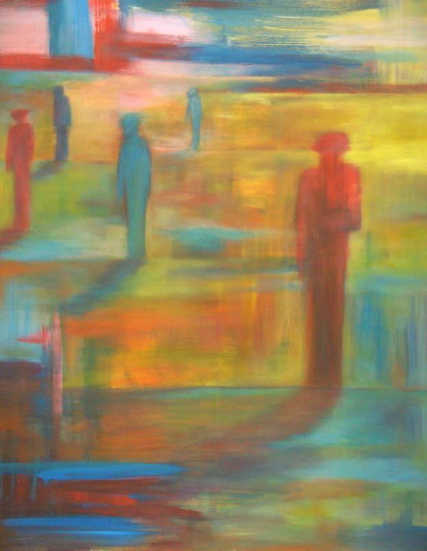 Seuls lumineux - 120x140 - 2010