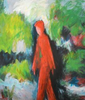 Rouge en campagne - 200x180 - 2012