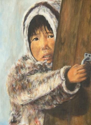 Enfant esquimau - 60x80 - 2012