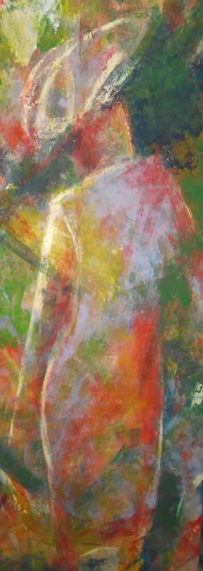Illuminée - 60x170 - 2012