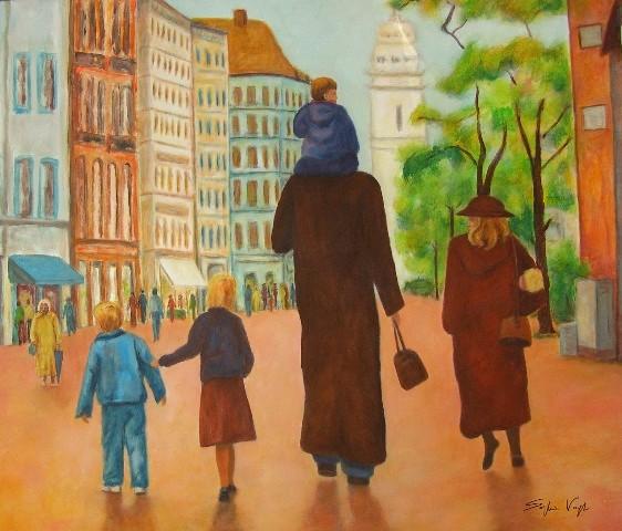Munich en famille - 120x140 - 2009
