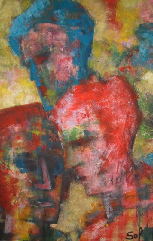 Colortêtes - 120x80 - 2013