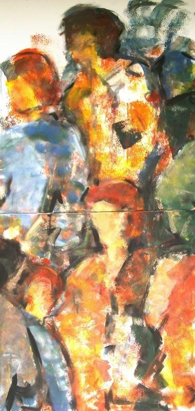 Foule - 2x100x100 - 2009