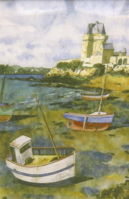 St-Malo - aquarelle - 2005