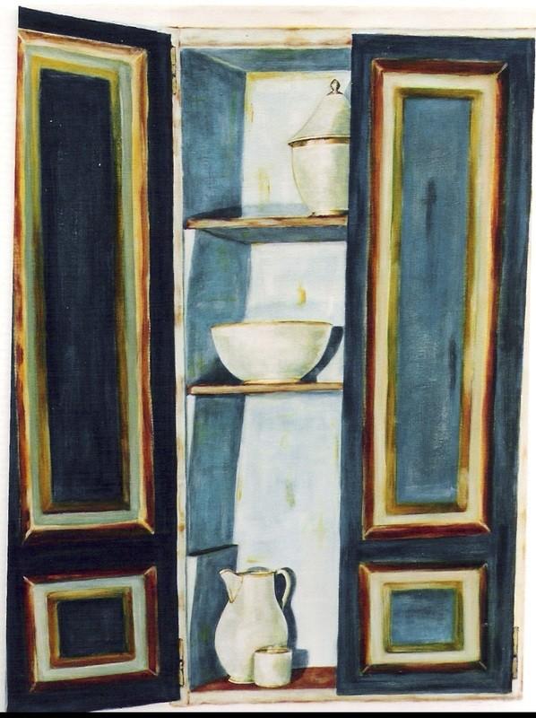 Armoire paysanne - 60x80 - 2006