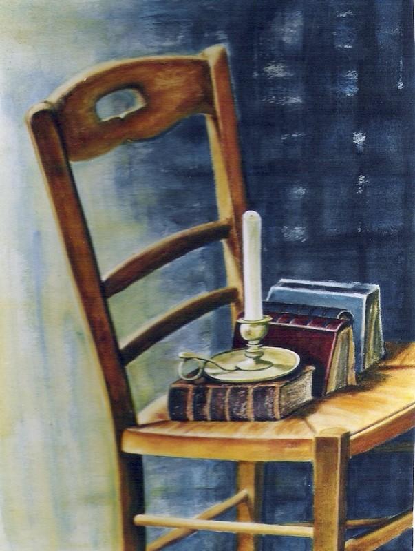 Chaise au bougeoir - 60x80 - 2006