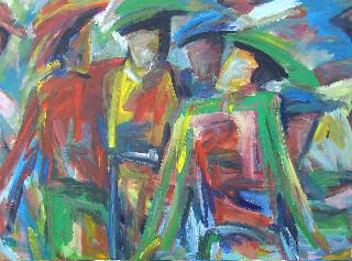Les copains - 140x160 - 2009