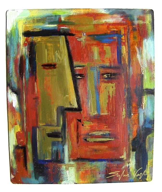 Face et profil dorés - 2010