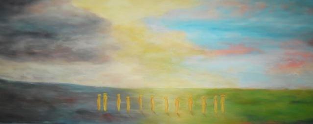 Hiver - printemps - 80x220 - 2012