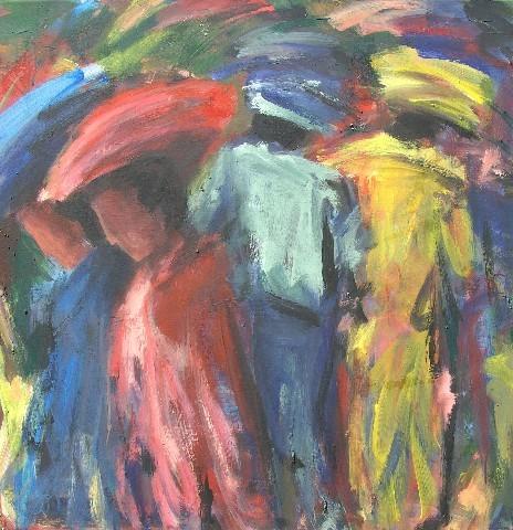 Couples en balade - 80x80 - 2011