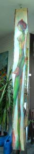 Suspendue double face - auf Holz - ca 30x260 - 2013