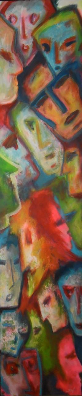 Haute foultitêtes - 180x40 - 2014