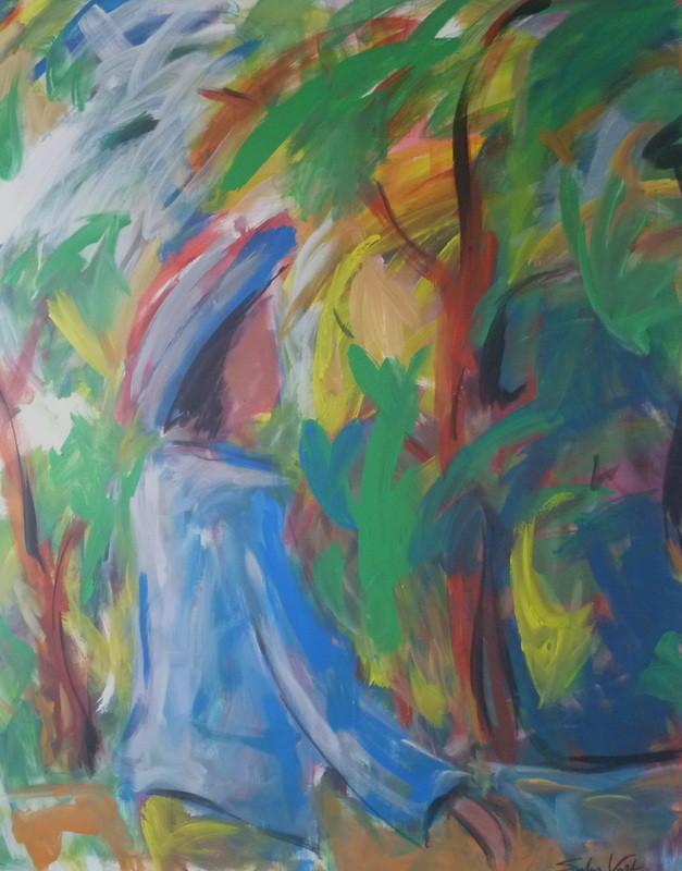 Bois en solitaire - 140x160 - 2010