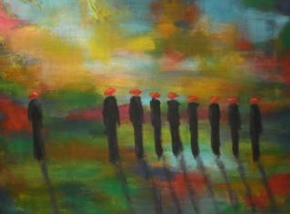 Les veuves joyeuses - 140x200 - 2013