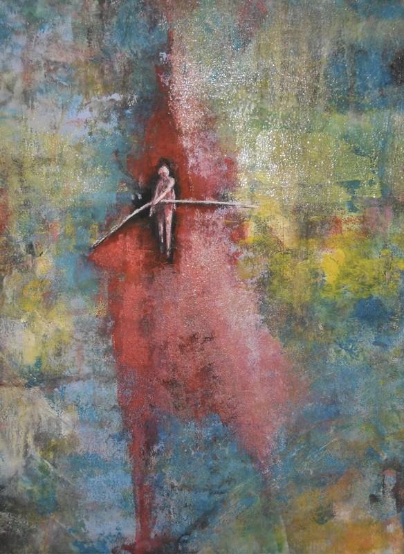 Céleste équilibre - 50x70 - 2012