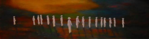 Nomade défilé - 60x200 - 2012