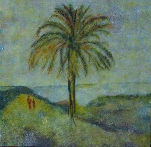Le palmier - 80x80 - 2011