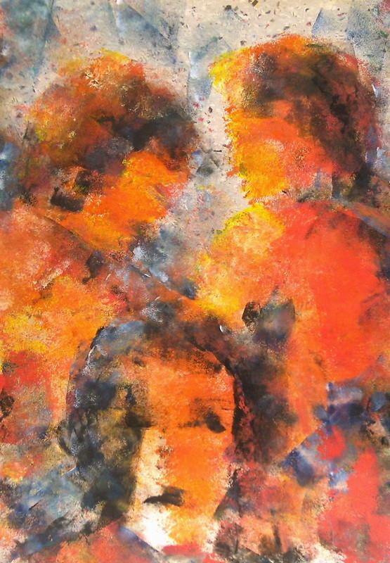 Visage - 50x60 - Schrifttpappkarton - 2007