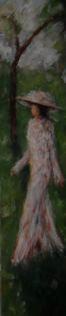 Élègante en campagne - 200x40 - 2012
