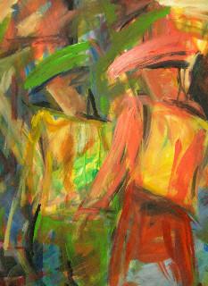 Couple coloré - 120x160 - 2010