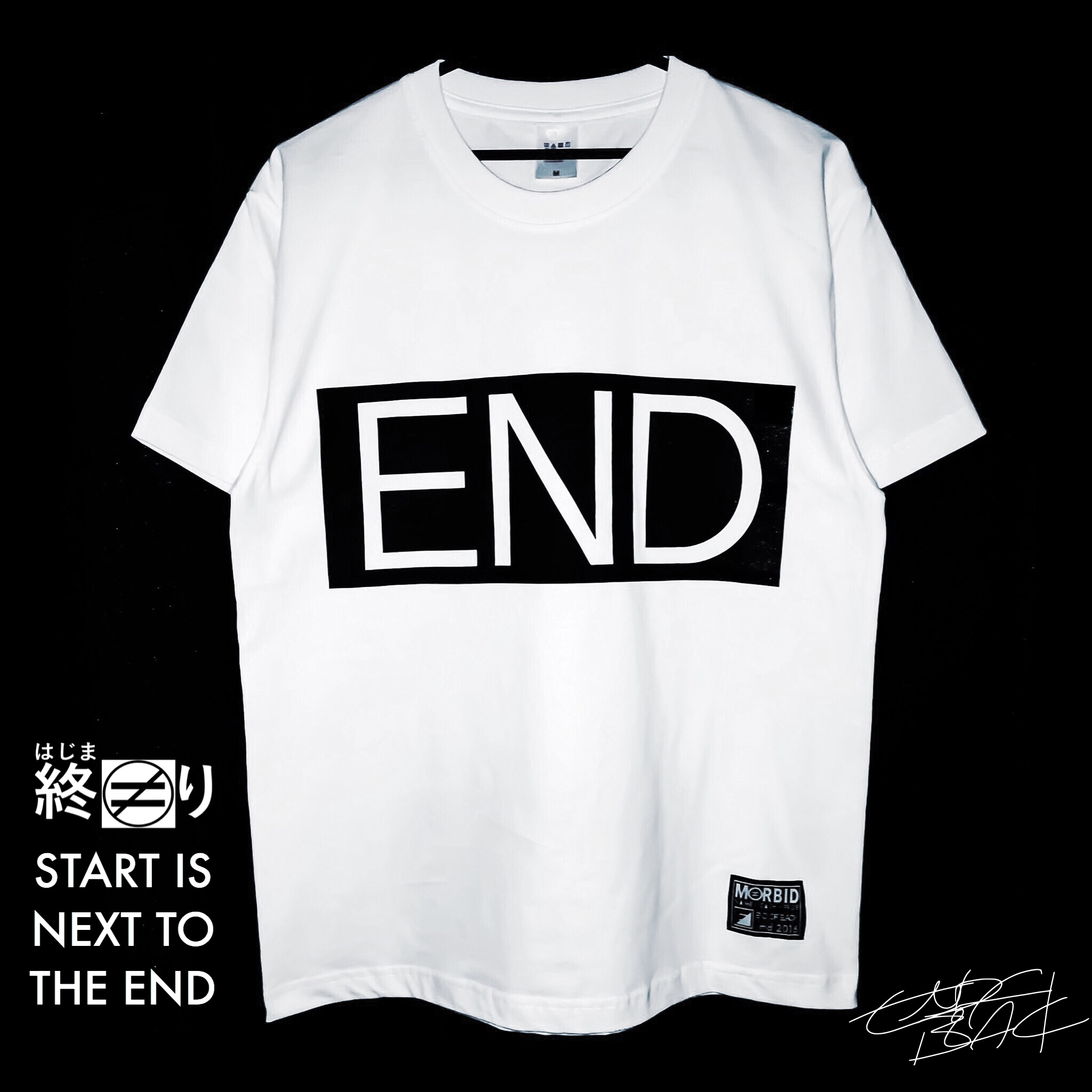[END-T]6.2オンスシャツ ¥4,500+tax