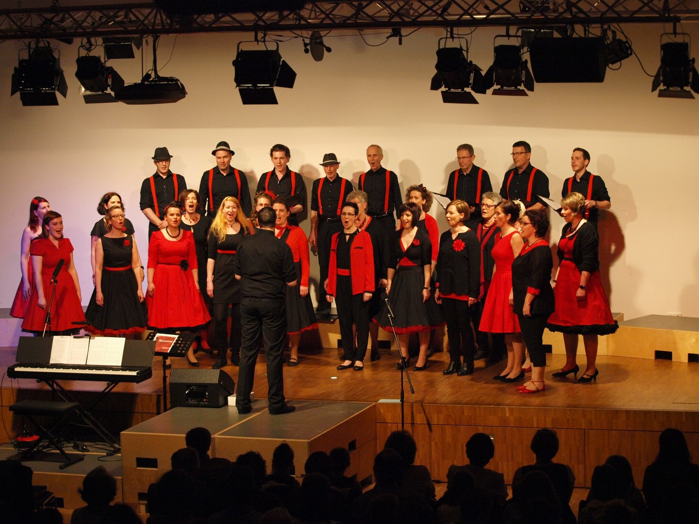 "Konzert mit den ""singing-friends"", April 2016, G3, Dornbirn"