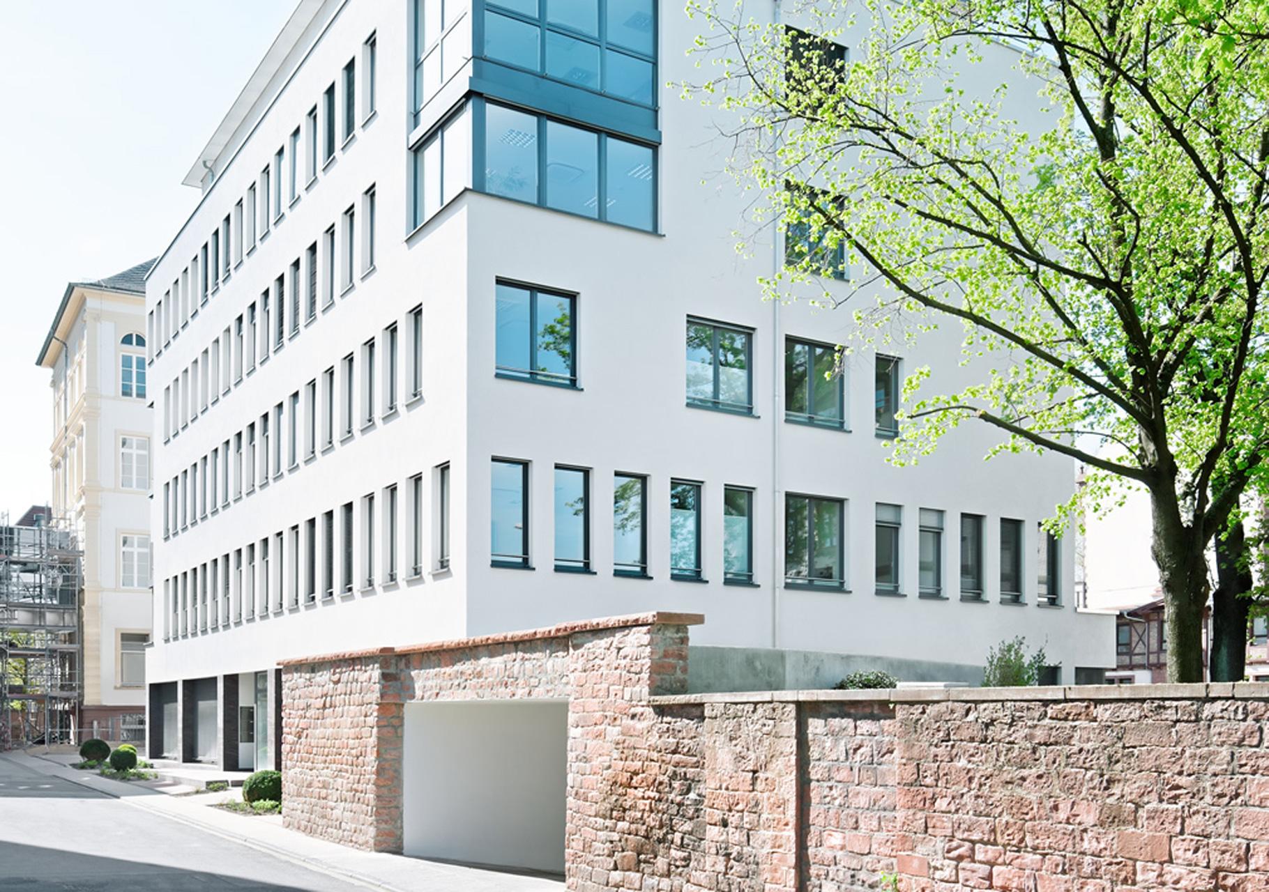 Bürogebäude Stadthaus am Neckar Heidelberg 2009