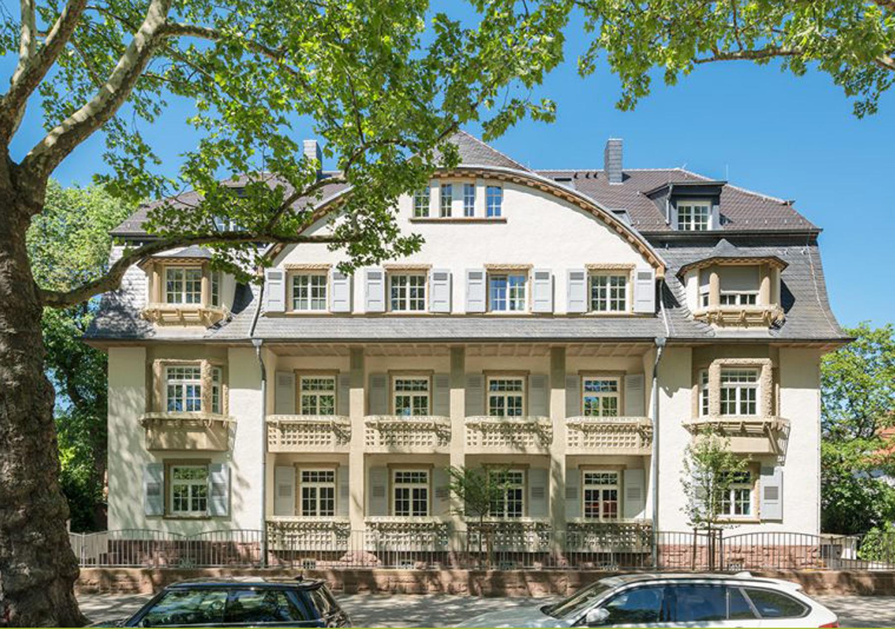 Stadtvilla am Luisenpark Mannheim Fertigstellung 2017
