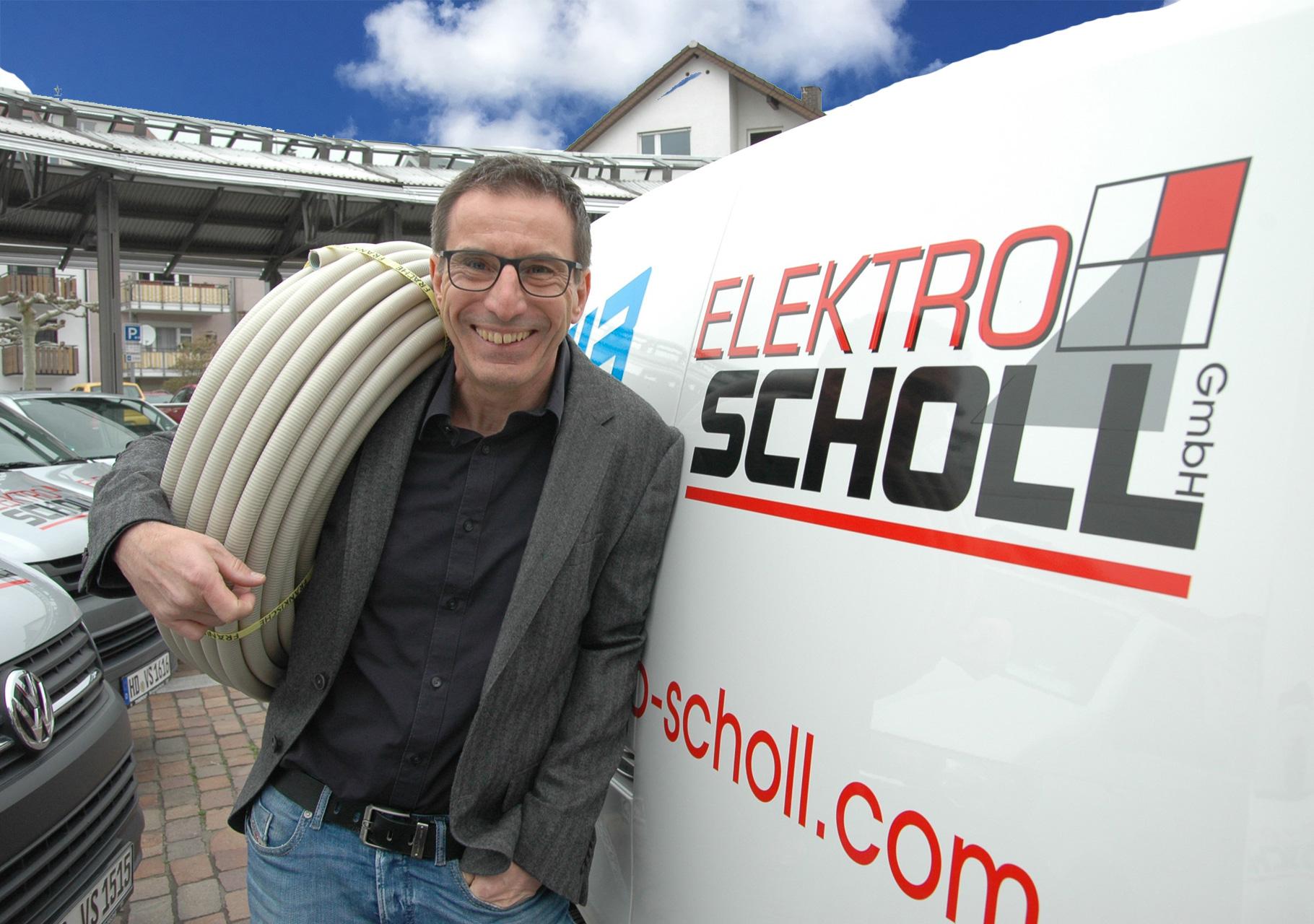 Chefe Viktor Scholl - Geschäftsführer