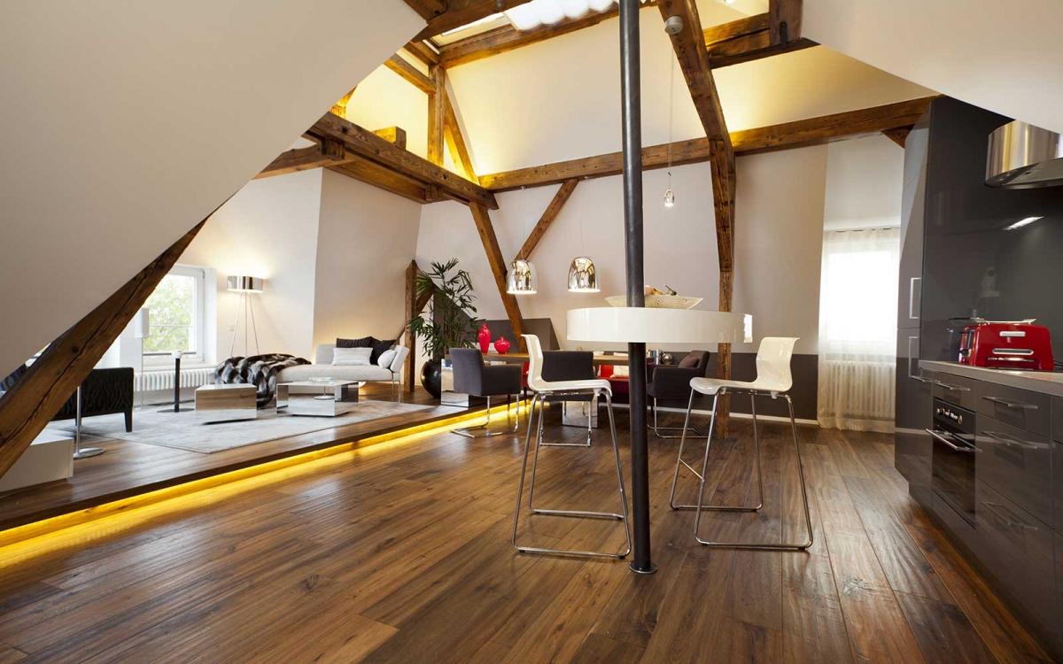 Sanierung Wohnung und Ausbau Dachgeschoss - Heidelberg Neuenheim 2012