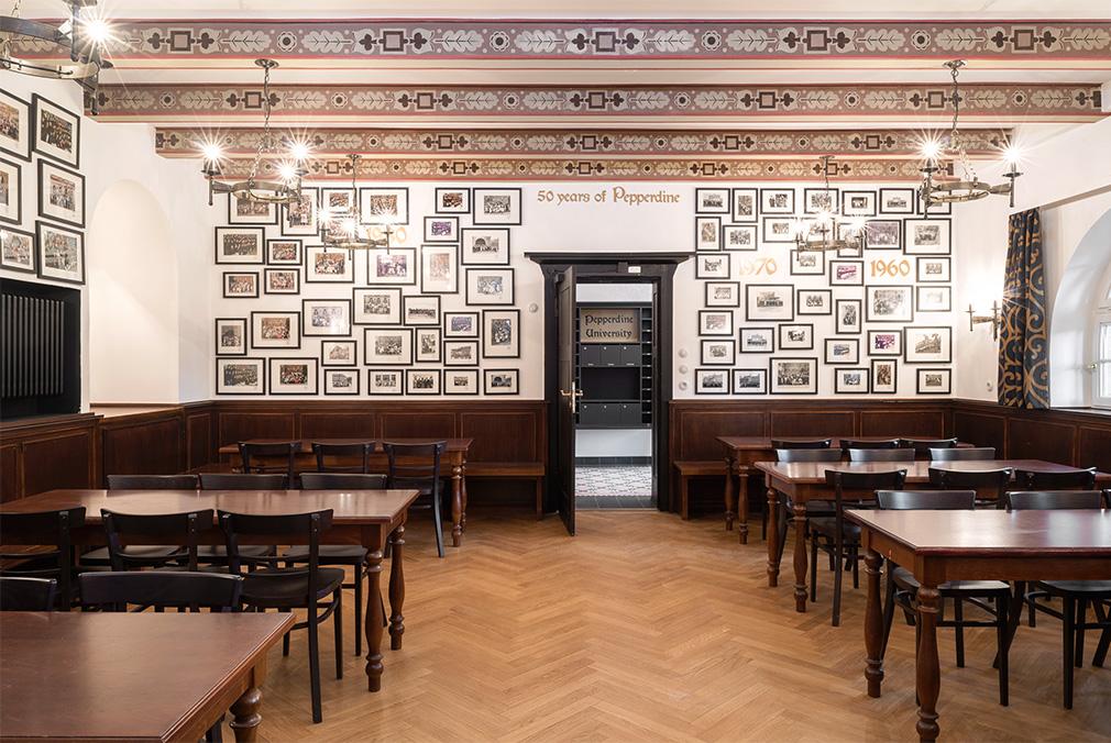 Pepperdine University - Moore Haus Heidelberg 2015